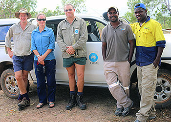 Preparing for cassowary field research with CSIRO